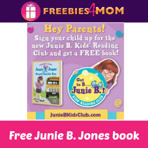 Free Junie B. Jones Book Starter Set