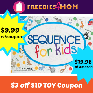 Kmart Toy Coupon: $3 off $10+ thru Easter