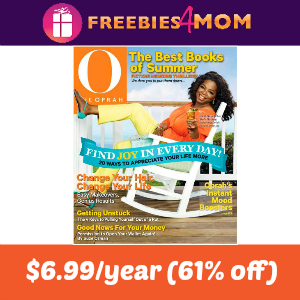 Deal O, The Oprah Magazine $6.99 (61% Off)
