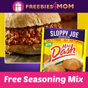 Free Sloppy Joe Seasoning Mix