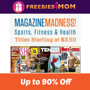Deal Sports Magazines Up to 90% Off