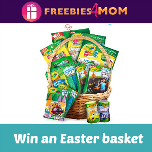 Sweeps Crayola Springtastic Color Basket