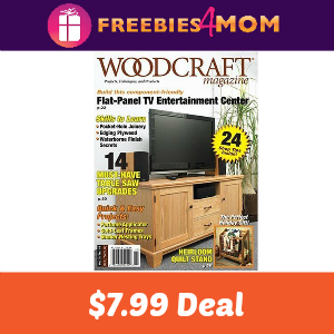 Deal Woodcraft Magazine for $7.99 (was $19.97)