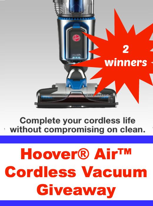 Hoover Air Cordless Vacuum Giveaway