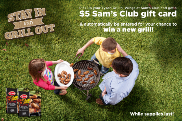 Tyson Grillin' Wings Rebate Offer