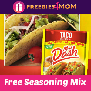 Free Mrs. Dash Taco Seasoning Mix