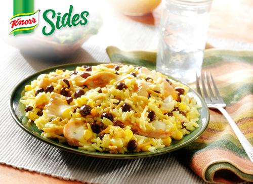 Knorr Sides Cheesy Fiesta Chicken Recipe