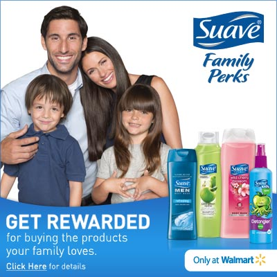 Get Rewarded with Suave Family Perks at Walmart