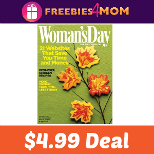 Magazine Deal: Woman's Day $4.99