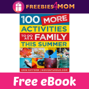 Free eBook: 100 More Activities To Do