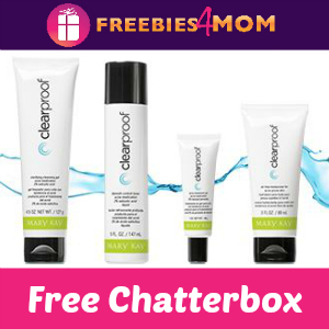Free Chatterbox: Mary Kay Clearproof