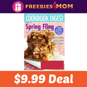 Magazine Deal: Cookbook Digest $9.99