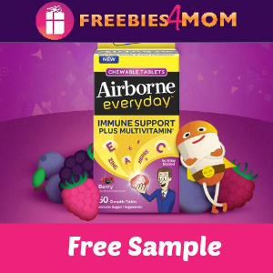 Free Sample Airborne Everyday