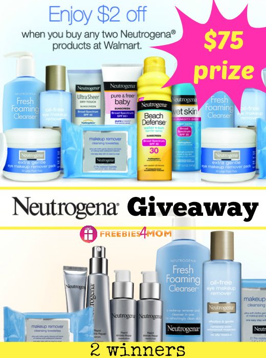 $75 Neutrogena Giveaway