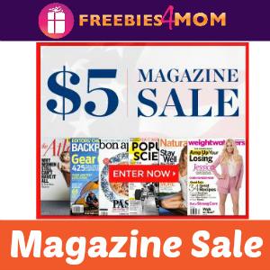 Magazine Deal: $5 Sale