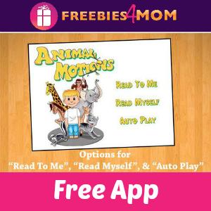 Free Storybook App: Animal Motions