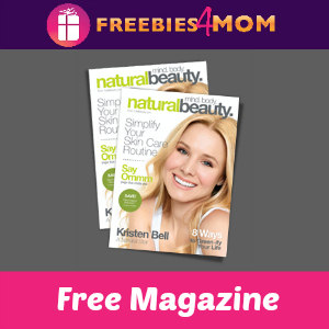 Free Natural Beauty Mini Magazine