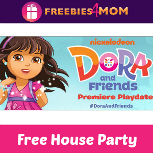 Free House Party: Dora and Friends