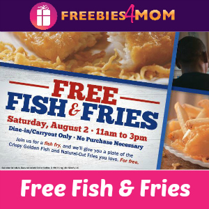 Free Fish & Fries at Long John Silver's Saturday