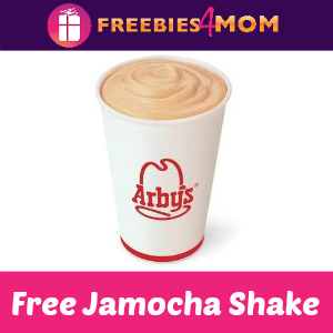 Free Jamocha Shake at Arby's Wednesday