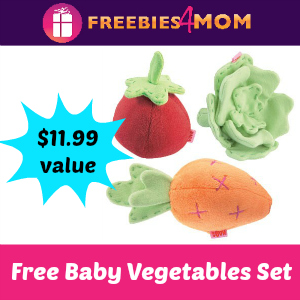 Free HABA Baby Vegetable Set *starts 12pm CT*