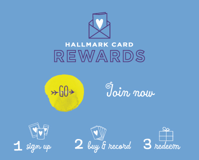 Join Hallmark Card Rewards