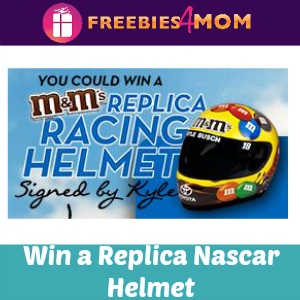 Sweeps M&M's Nascar Replica Racing Helmet