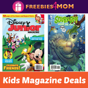 Kids Magazine Deals: Disney Junior & Scooby-Doo