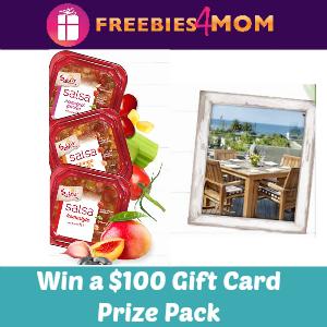Sweeps Sabra Salsa Love (Win a $100 Gift Card)