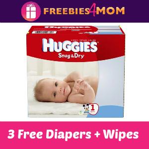 Free Sample Huggies Diapers + Wipes
