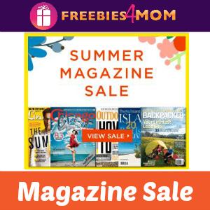Magazine Deal: Summer Sale ($3.99 & Up)