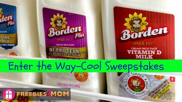 Way-Cool Sweepstakes plus Mooo-dy Summer Mania