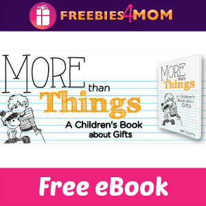 Free eBook: More Than Things ($3.99 Value)