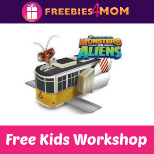 Free Monsters vs Aliens Trolley Lowe's Kids Clinic