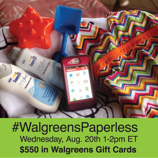 #WalgreensPaperless-Twitter-Party-8-20, #TwitterParty, #shop, sweepstakes on Twitter