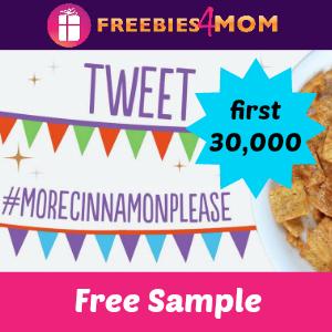 Free Sample Cinnamon Toast Crunch