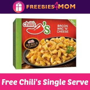 Free Chili's Single Serve Frozen Entrée at Kroger
