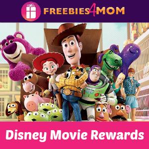 Disney Movie Rewards 75 Points