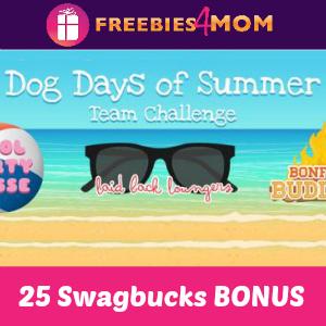 Swagbucks Dog Days of Summer Team Challenge