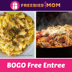 BOGO Free Entrée at Johnny Carinos