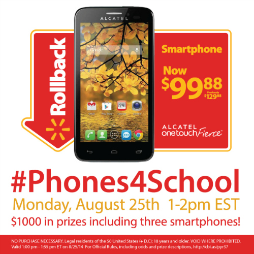#Phones4School-Twitter-Party-8-25 #TwitterParty, #shop, sweepstakes on Twitter