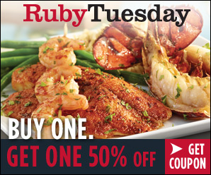Ruby Tuesday Coupon