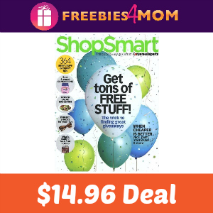 Magazine Deal: $14.96 ShopSmart