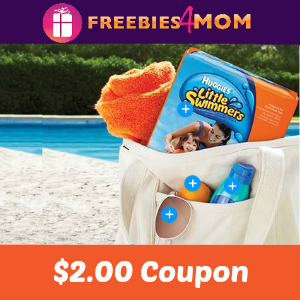 $2.00 Huggies Little Swimmers Coupon