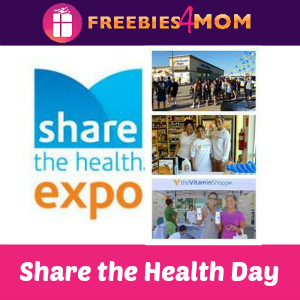 Vitamin Shoppe Share the Health Expo Oct. 25