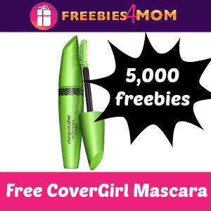 5,000 Free CoverGirl Mascaras *starts 11am CT*