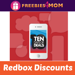 Redbox 10 Days of Deals