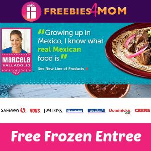 Free Marcela Vallodolid Frozen Entree at Safeway