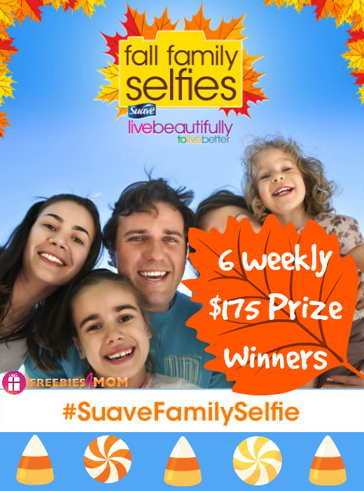 Snap a Fall Family Selfie, Win a $175 Prize from Suave