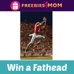 Sweeps Hunt Brother's Pizza Win a Fathead